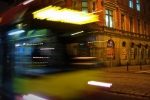 Autobus na ul. Kołłątaja