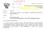 List do pana J. Skoczylasa