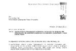 List w sprawie tramwaju na Kozanów i linii 703 str. 1