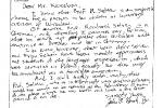 Odpowiedź prof. Nasha w sprawie prof. Seltena