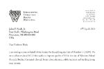 List do Rady Miasta w sprawie prof. Seltena