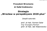 Strona tytułowa strategii