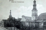 Wieże kościoła św. Macieja i klasztoru Urszulanek