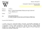 List do pana Jana Mazurkiewicza w sprawie Wzgórza Bendera