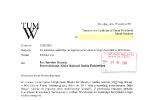 List w spawie torowisk złożony 20 grudnia 2011