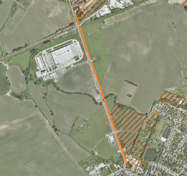 Wniosek o przystanki oraz drogę rowerową wzdłuż ul. Awicenny łączącej Oporów ze stacją kolejową Wrocław Zachodni